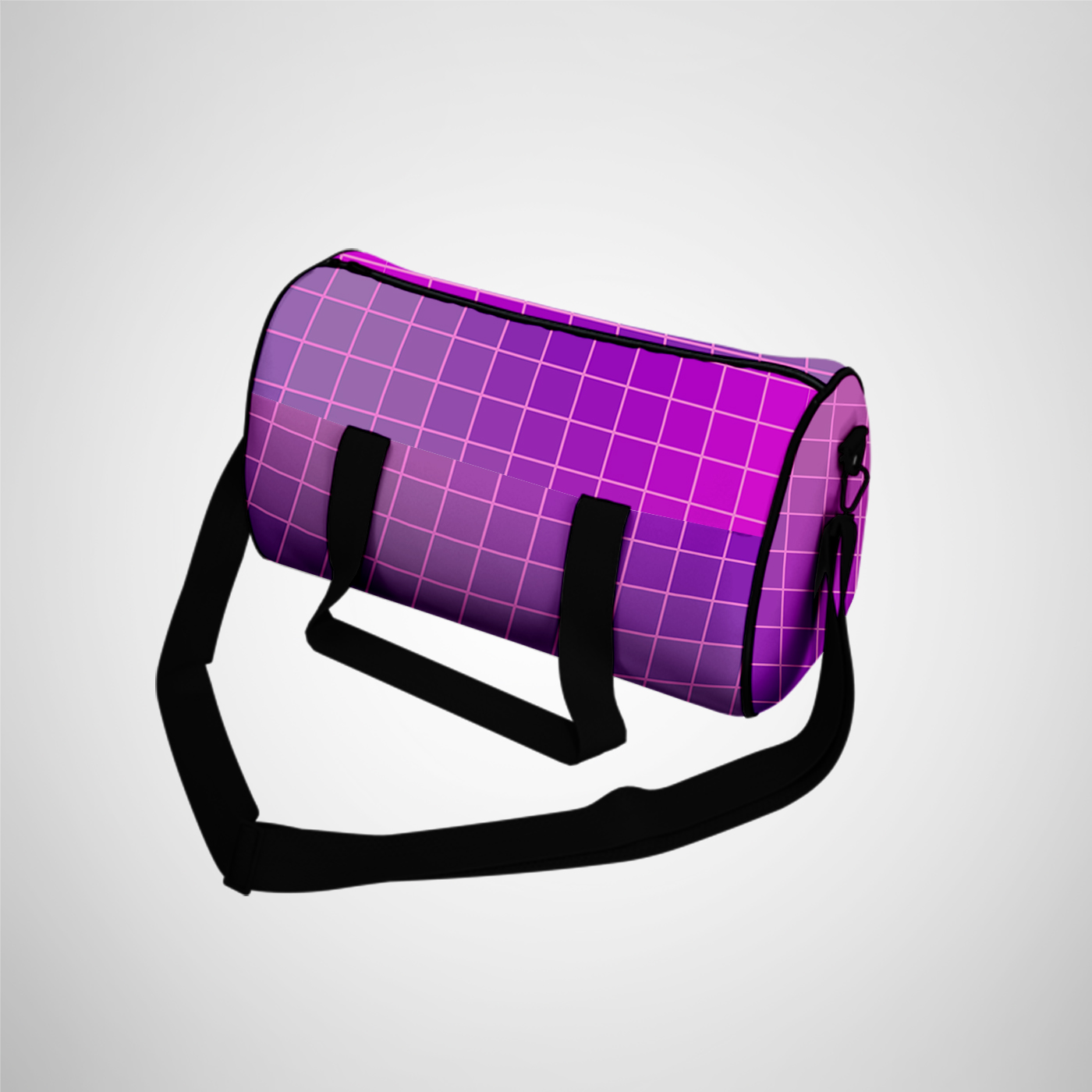 Smart object that's the way to apply your design,. Duffle Bag Gym Bag Mockup Photoshop Psd File Download 3d Files