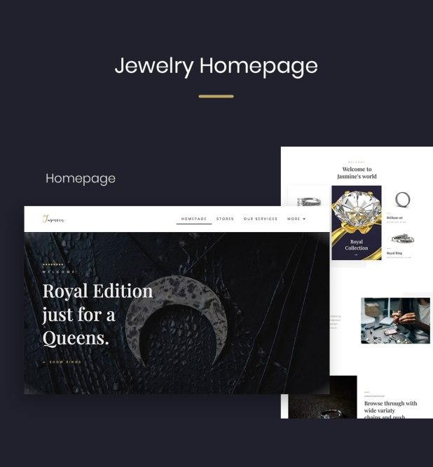JewelKit  - Jewelry Elementor Template Kit - 1