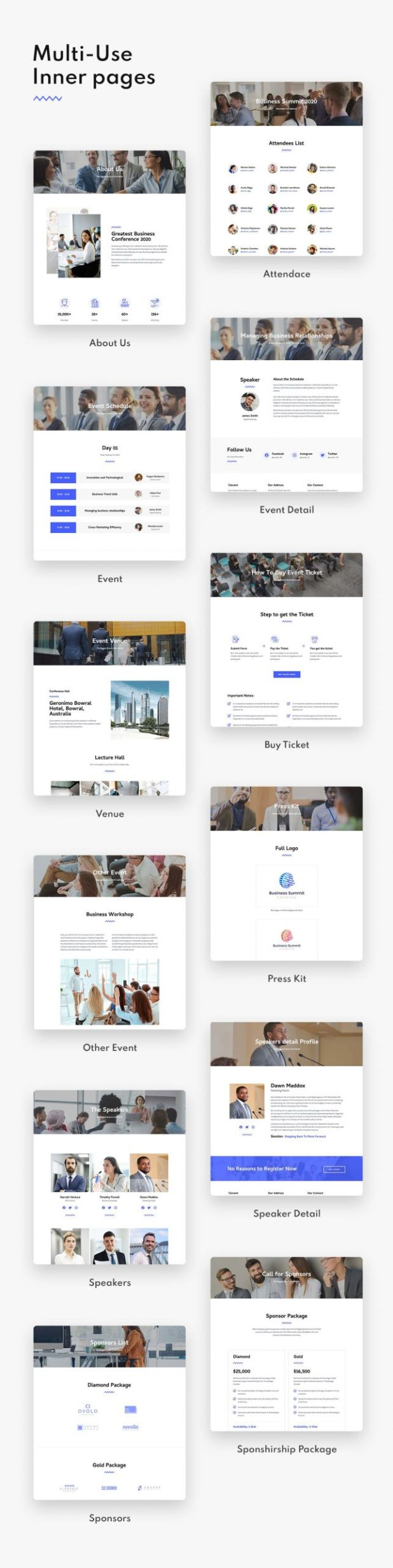 Clevent | Event Elementor Template Kit - 2