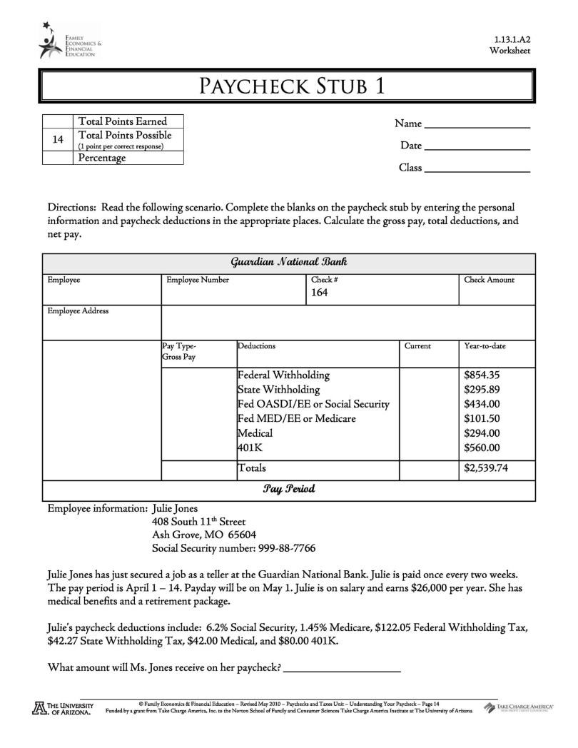 Pay Stub Template Check Stub All Form Templates - Salary check stub template