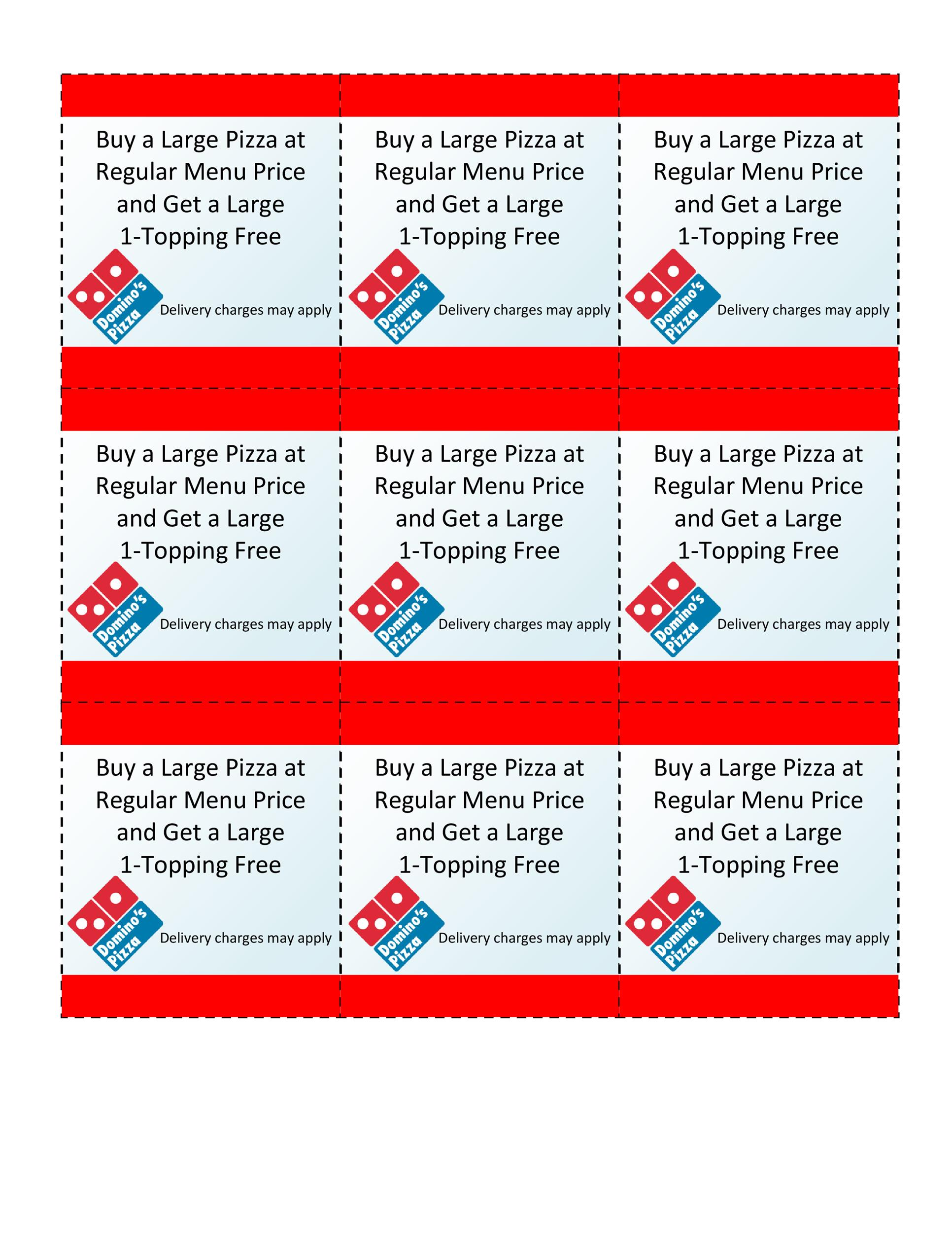 50 free coupon templates