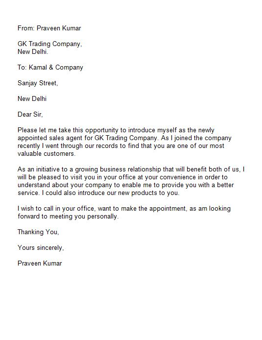Letter Introducing A New Product To Customers