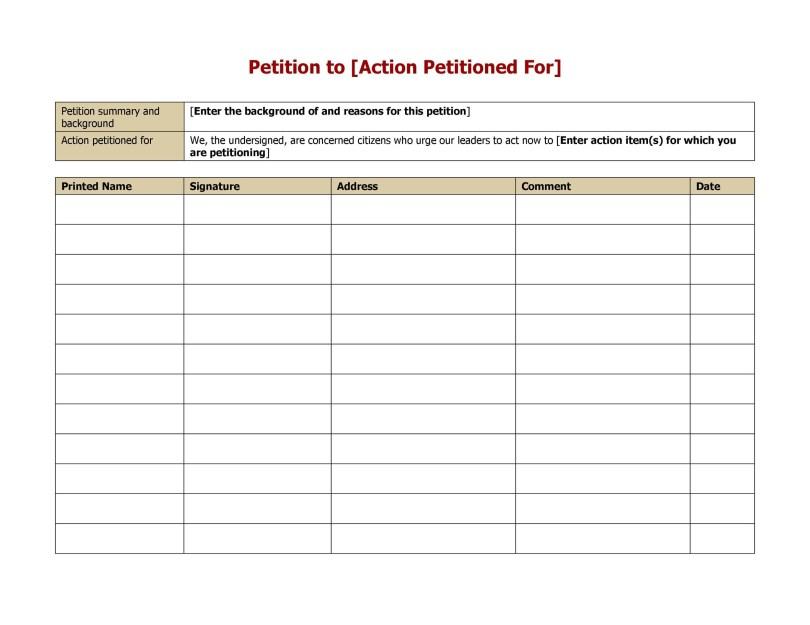 petition template images साठी प्रतिमा परिणाम