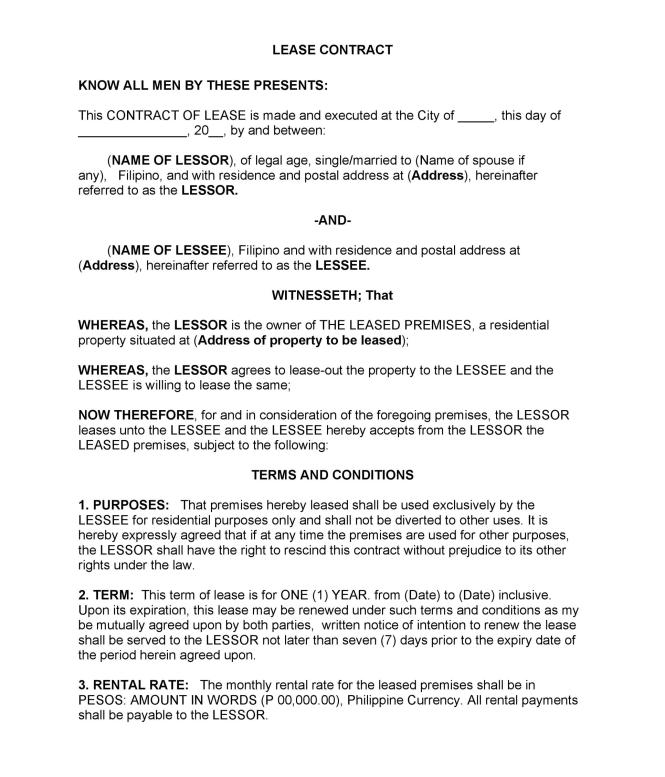 Apartment Lease Agreement Ma Nice Apartement