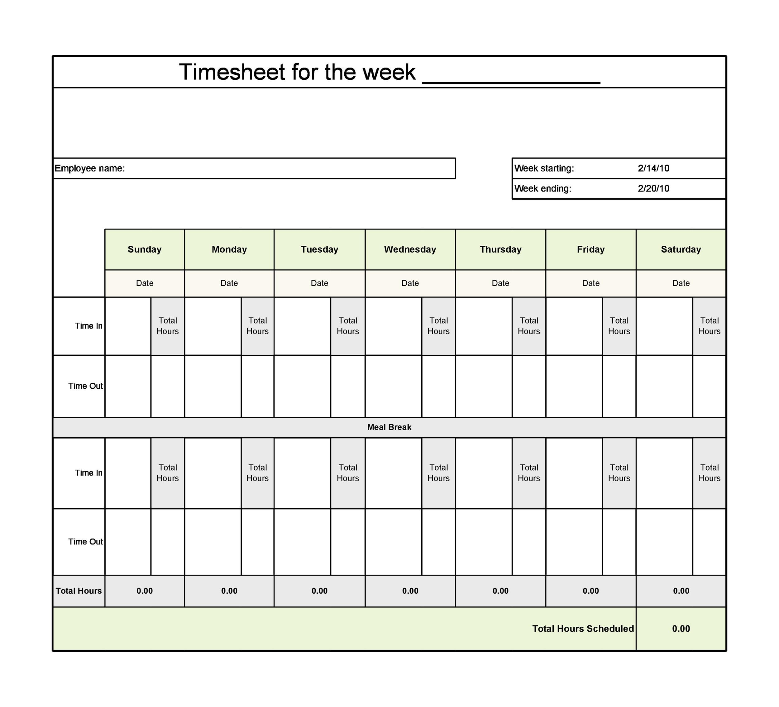 timecard tracker