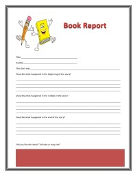 Book Review Template Middle School Pdf - education world ...