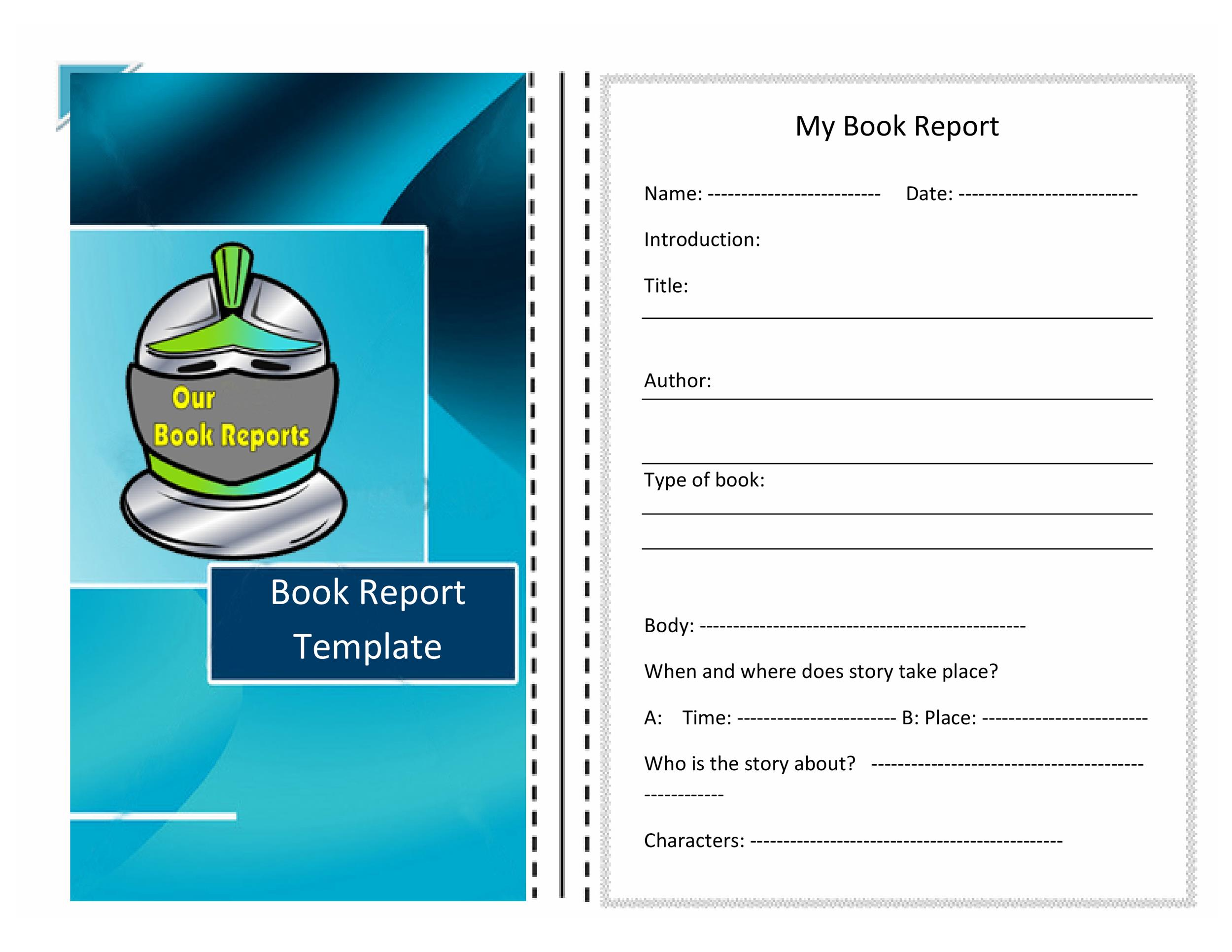 How To Write A 5th Grade Book Report