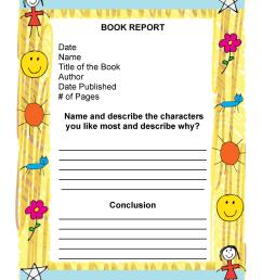 30 Book Report Templates \u0026 Reading Worksheets [ 2500 x 1932 Pixel ]