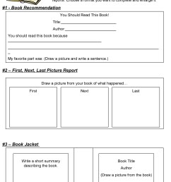 30 Book Report Templates \u0026 Reading Worksheets [ 2500 x 1875 Pixel ]