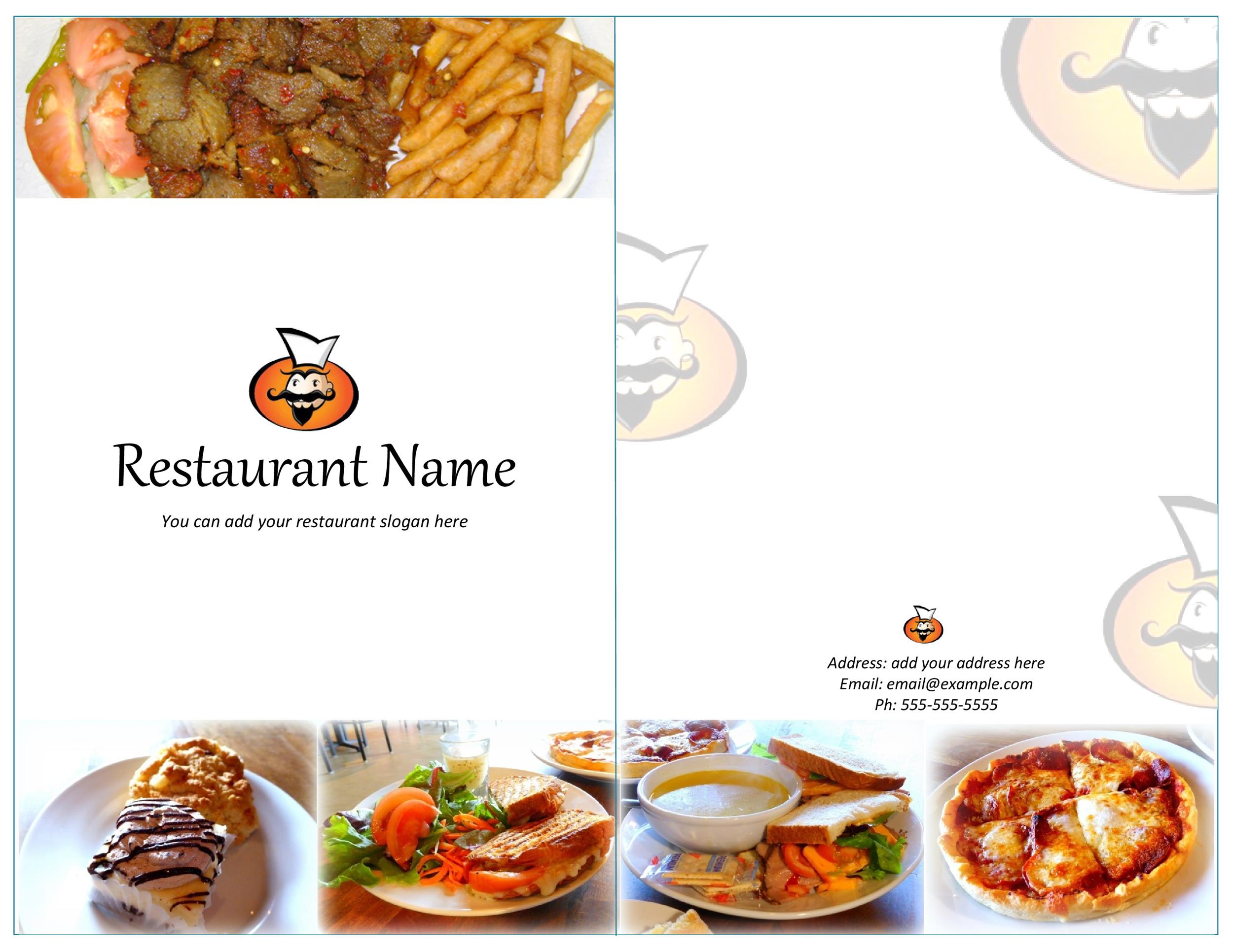 30 Restaurant Menu Templates & Designs Template Lab