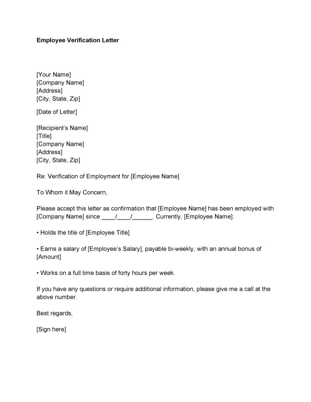 Letter confirming employment free download thecheapjerseys Image collections
