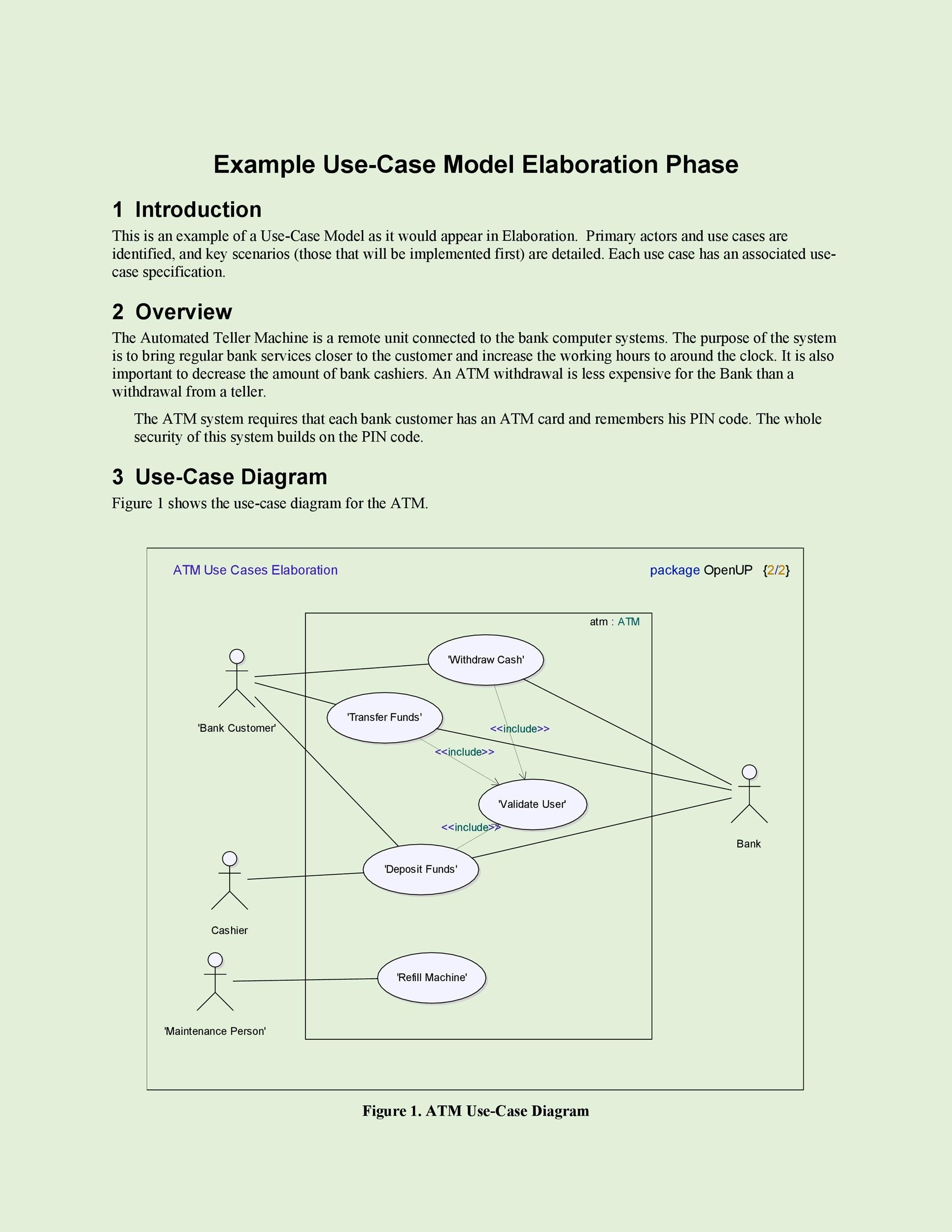 40 Use Case Templates Examples Word Pdf ᐅ Templatelab