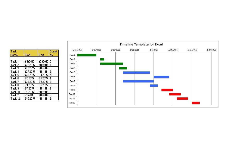 30+ Timeline Templates (Excel, Power Point, Word) ᐅ