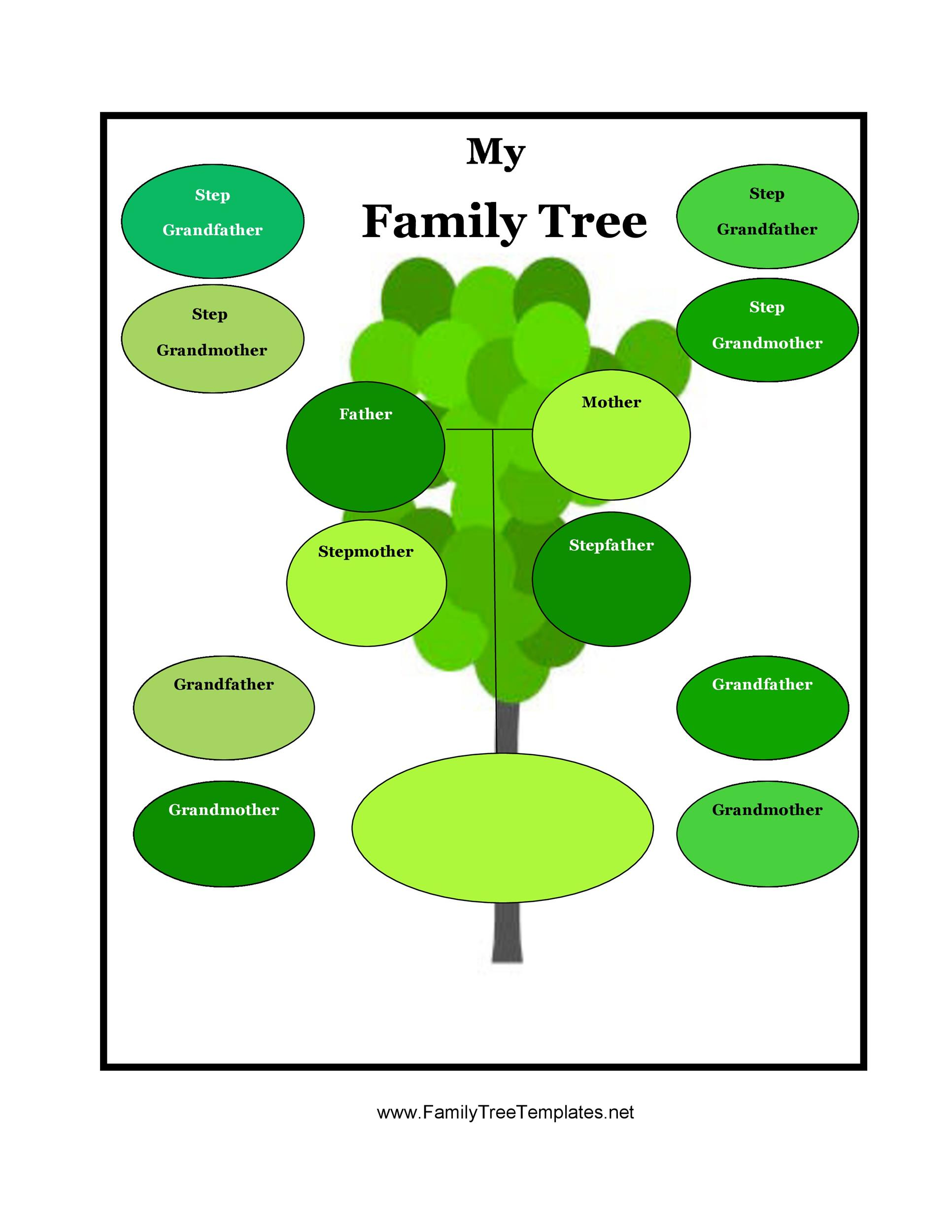 40 Free Family Tree Templates Word Excel