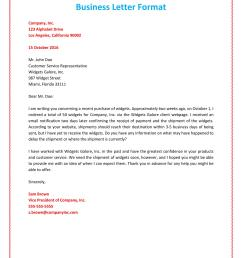 business letter format example [ 900 x 1165 Pixel ]