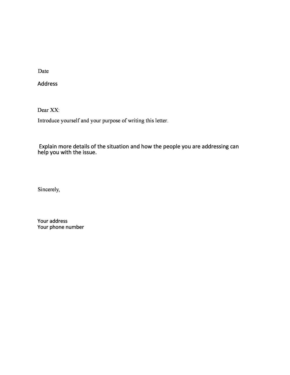 medium resolution of free formal business letter 19
