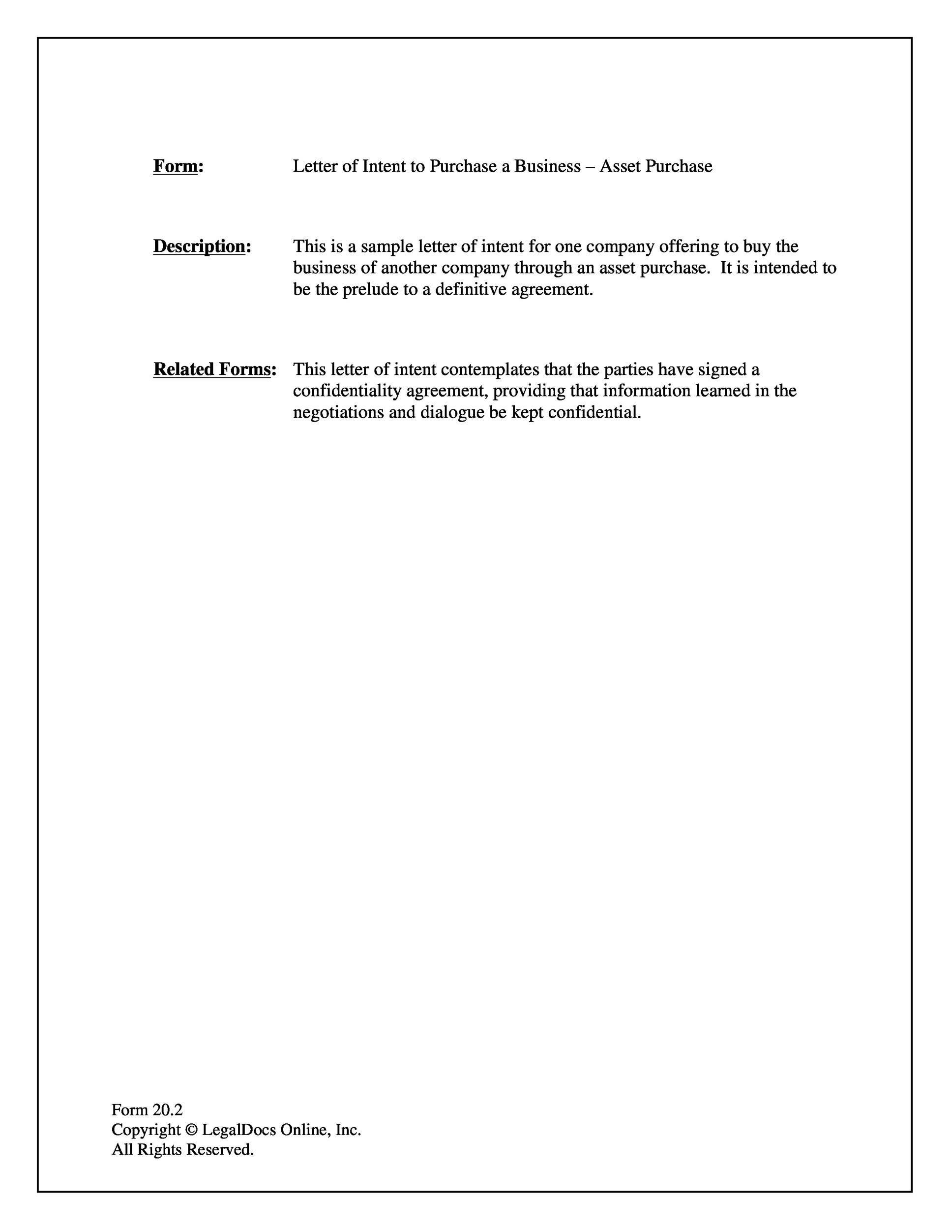 Free Formal Business Letter 23