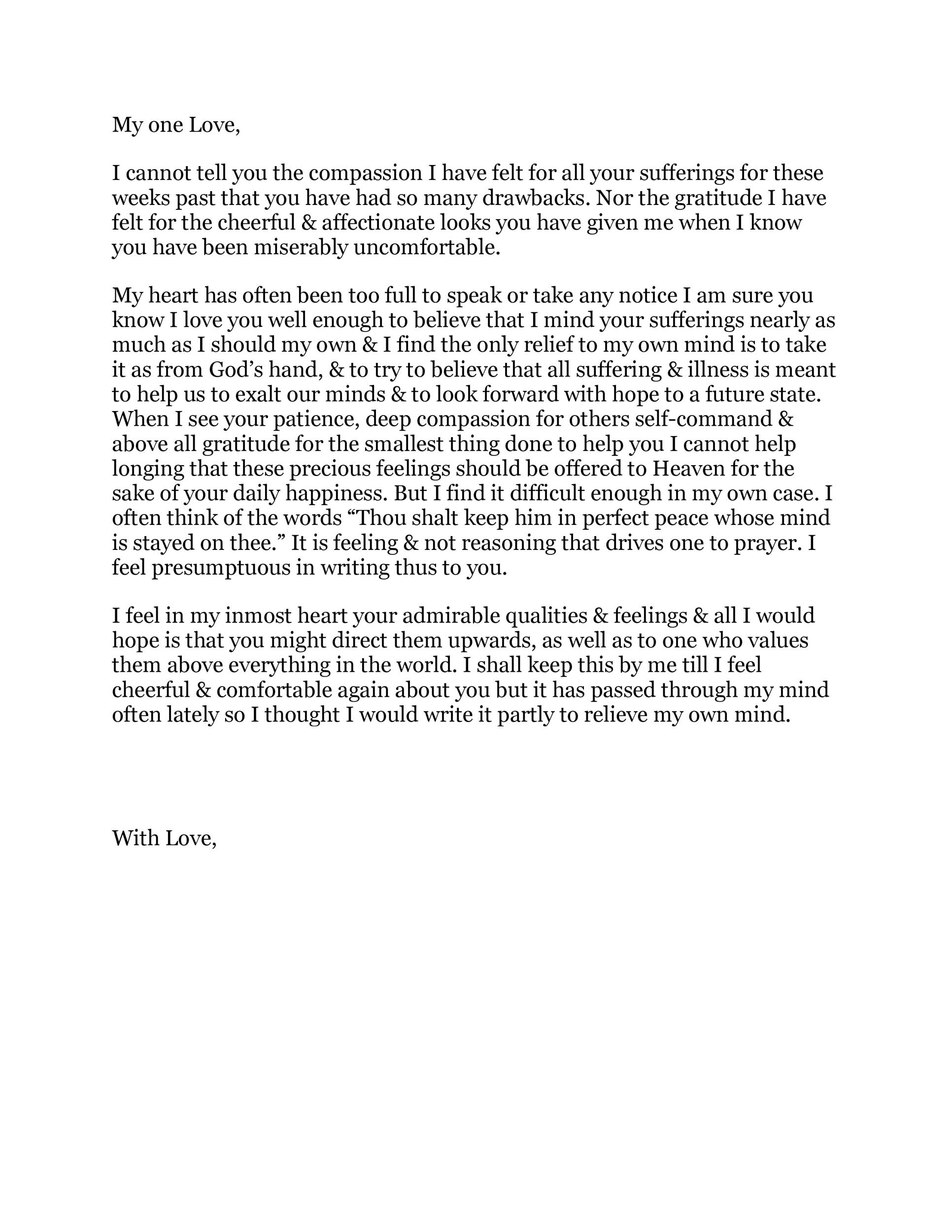 Long Love Letters For Him From The Heart