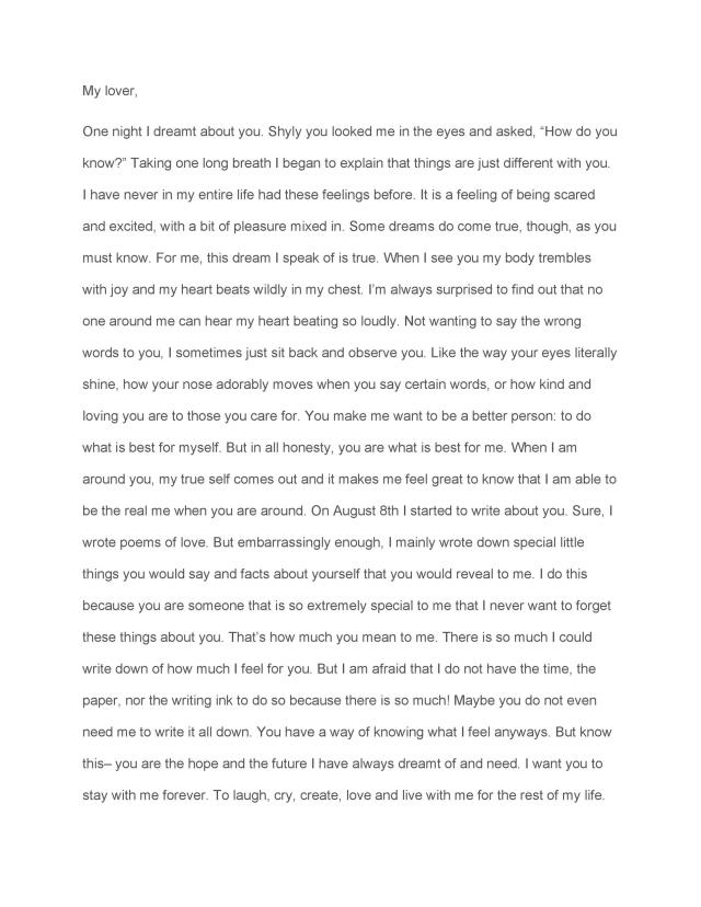 26 ♥ Romantic Love Letters for Her & for Him ♥