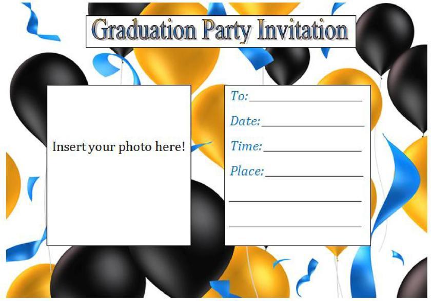 Free Graduation Invitation Templates Template Lab