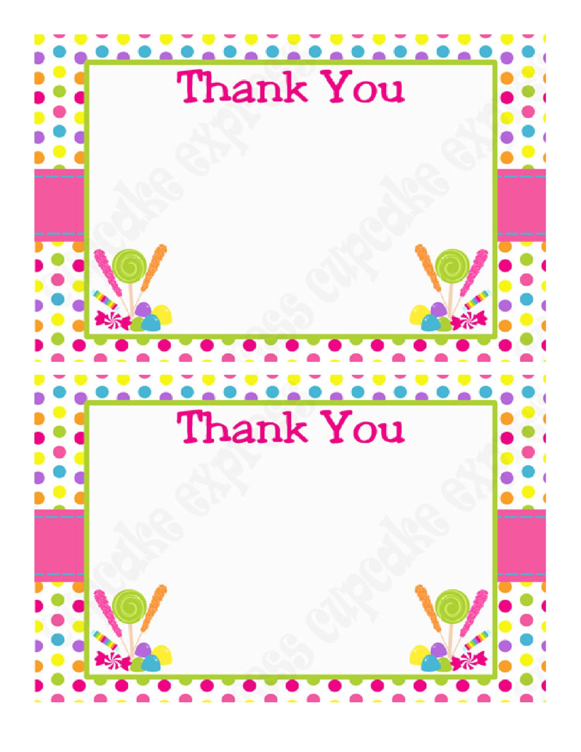 30 free printable thank