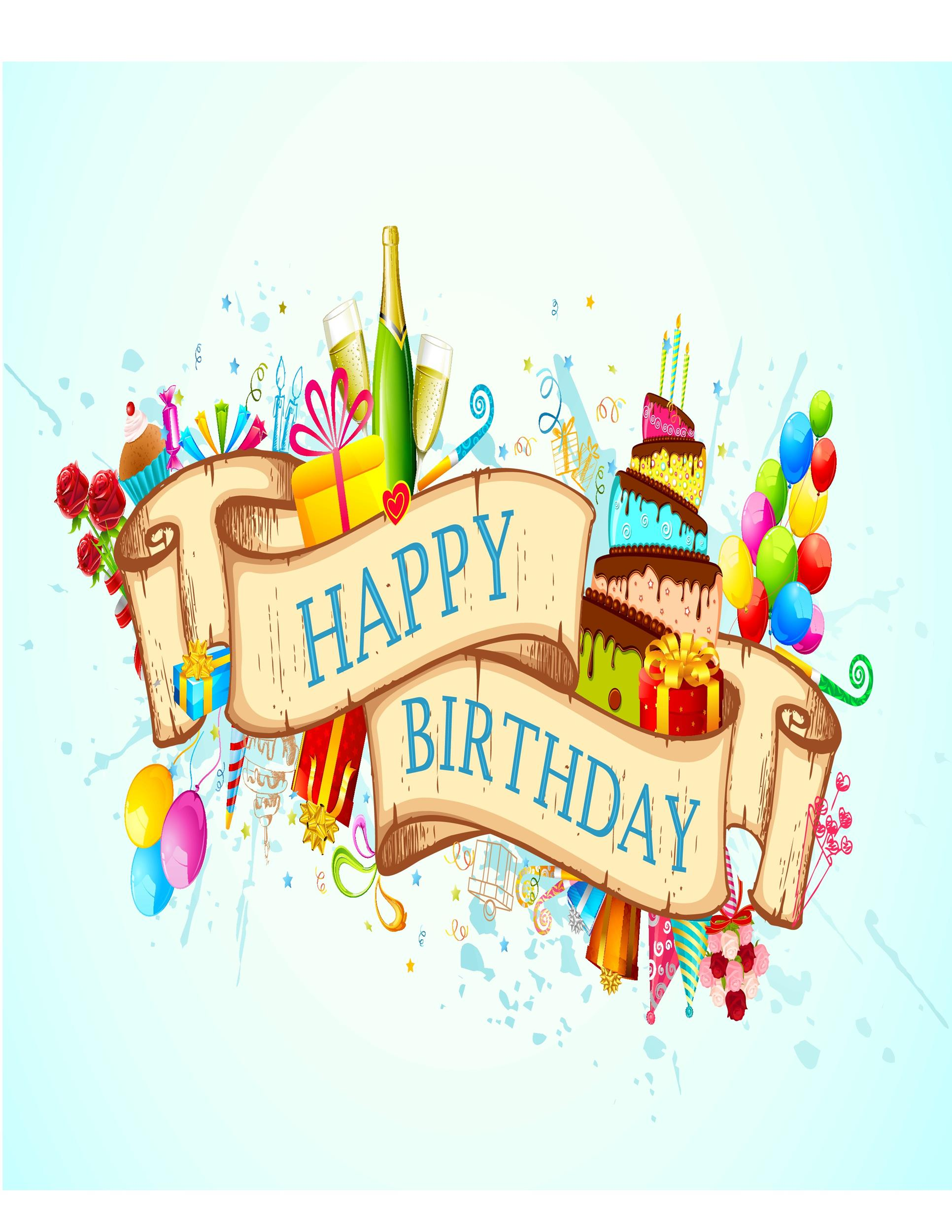 Birthday Cards Images Free Download : birthday, cards, images, download, Birthday, Templates, TemplateLab
