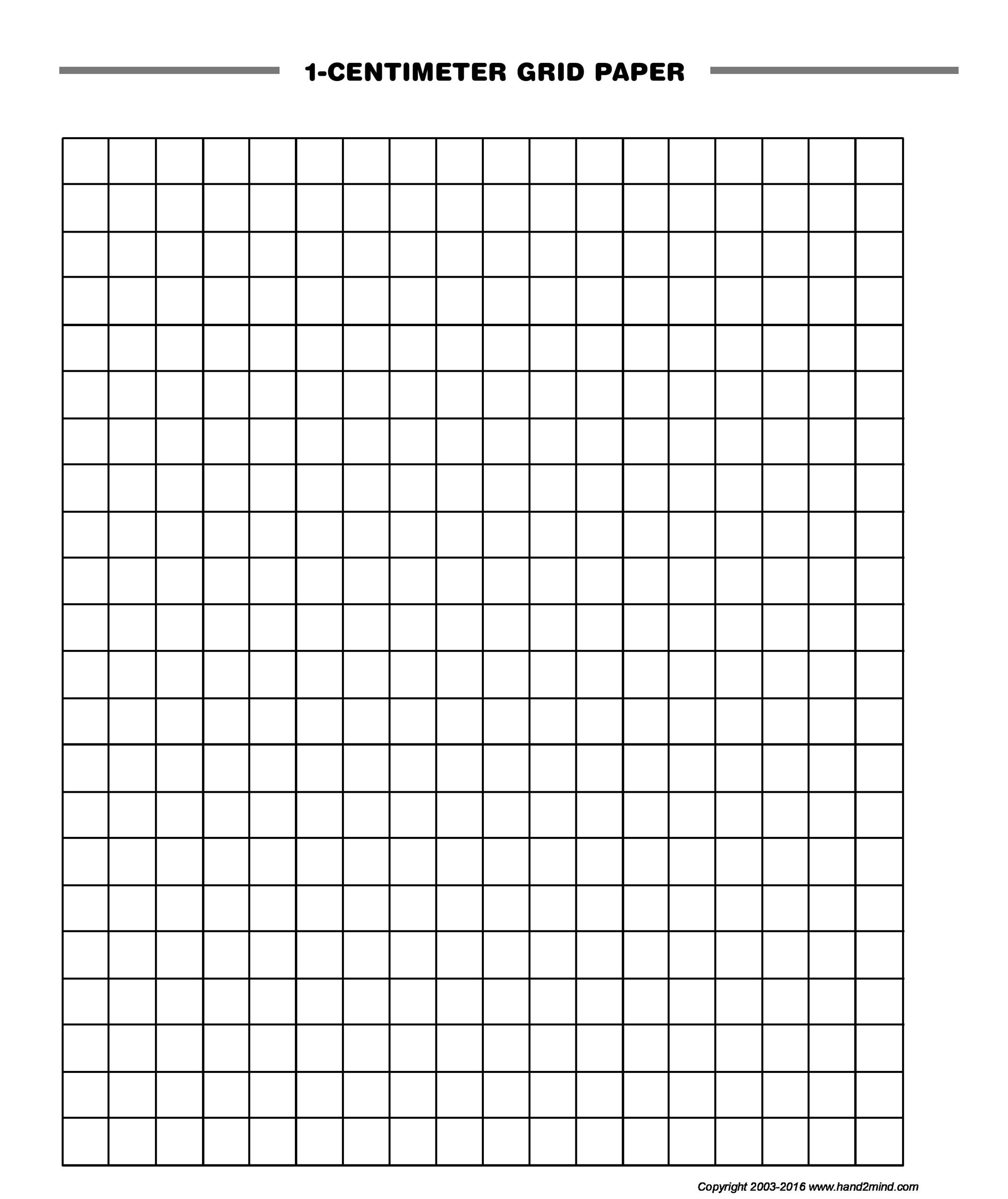 enlarged graph paper