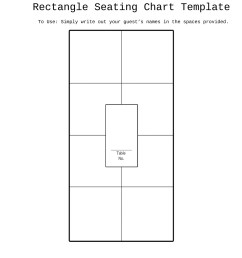 free seating chart template 07 [ 900 x 1275 Pixel ]