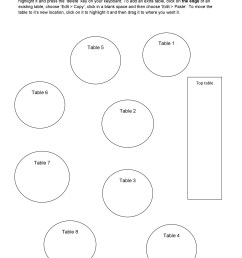 free seating chart template 28 [ 900 x 1274 Pixel ]