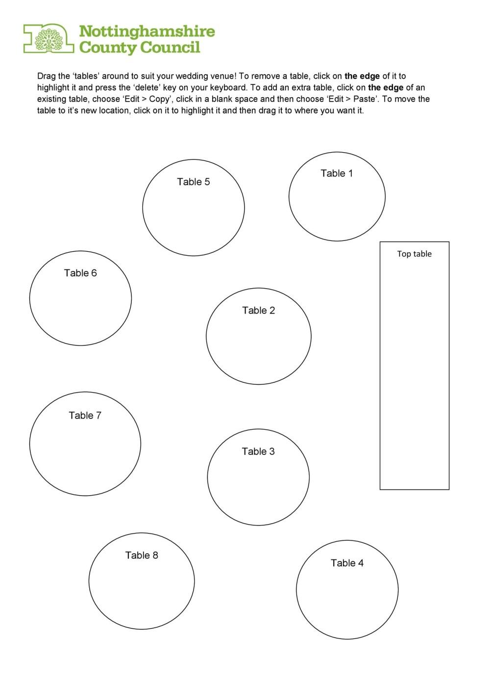 medium resolution of free seating chart template 28