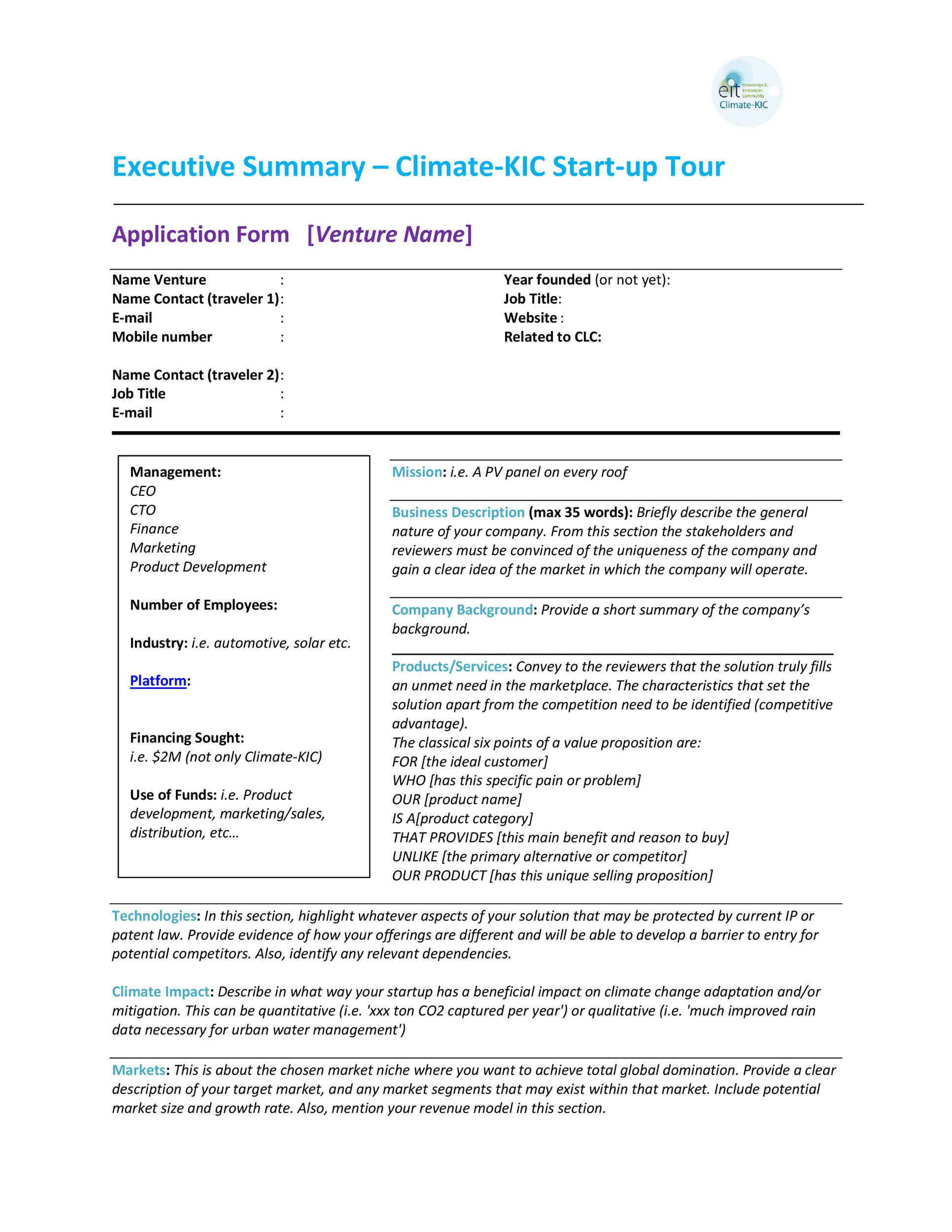 30+ Perfect Executive Summary Examples & Templates ᐅ TemplateLab