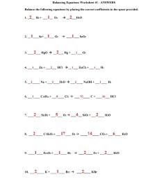 30 Balance The Following Chemical Equations Worksheet - Free Worksheet  Spreadsheet [ 2500 x 1932 Pixel ]
