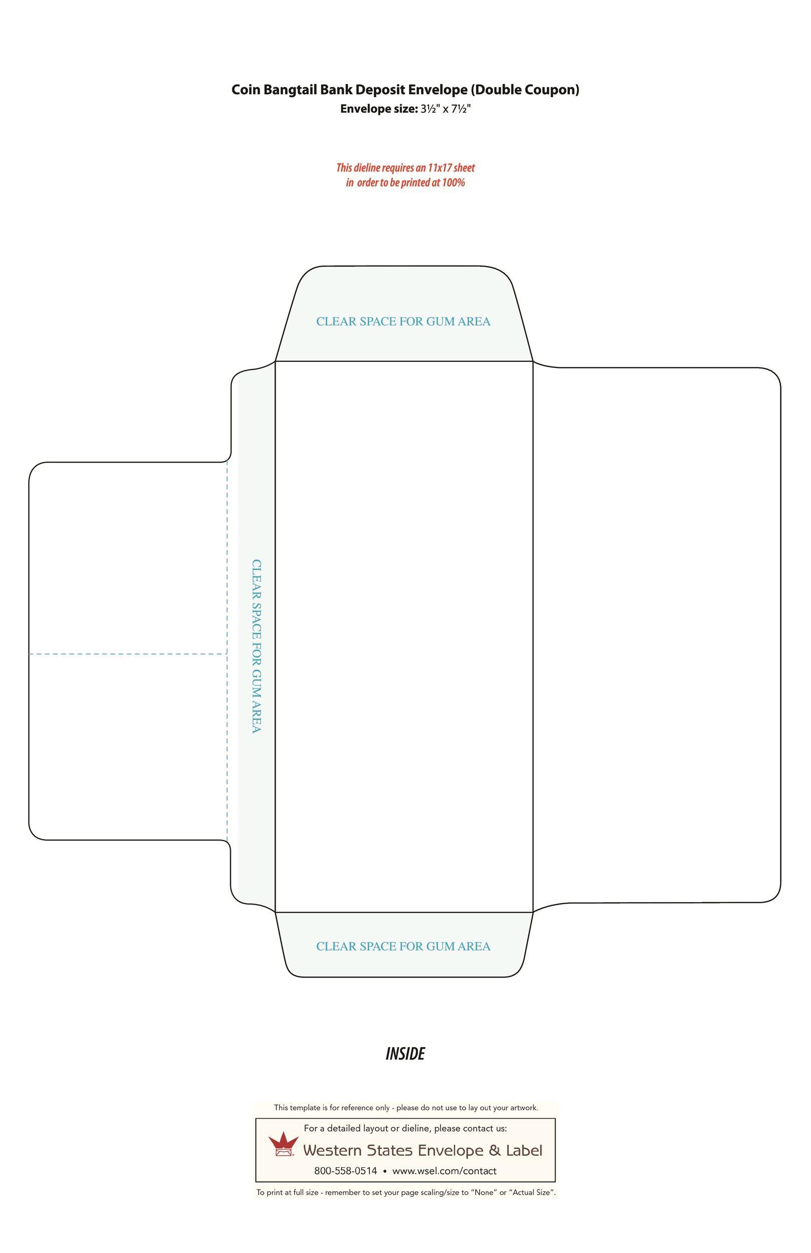 40 free envelope templates
