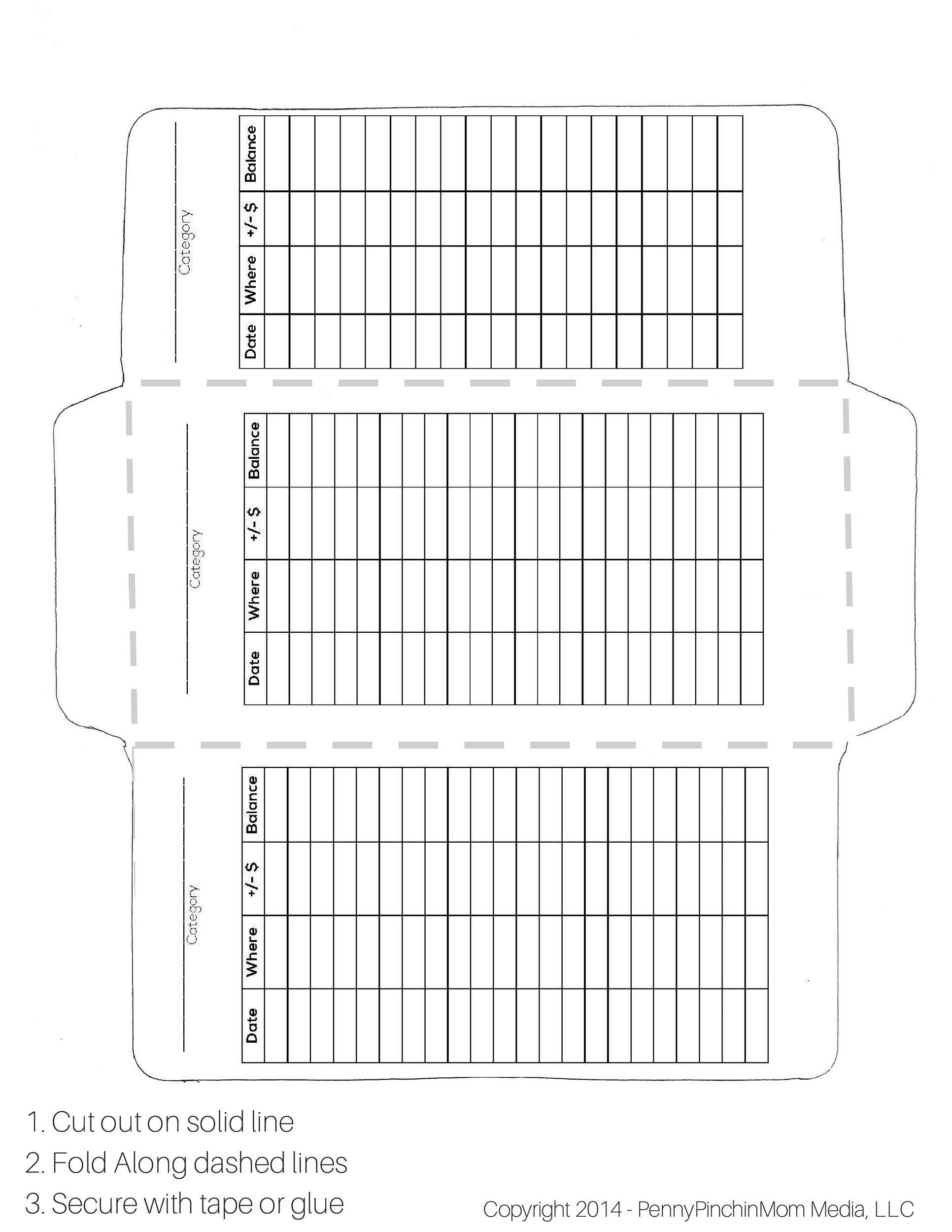 Free Envelope Template 31