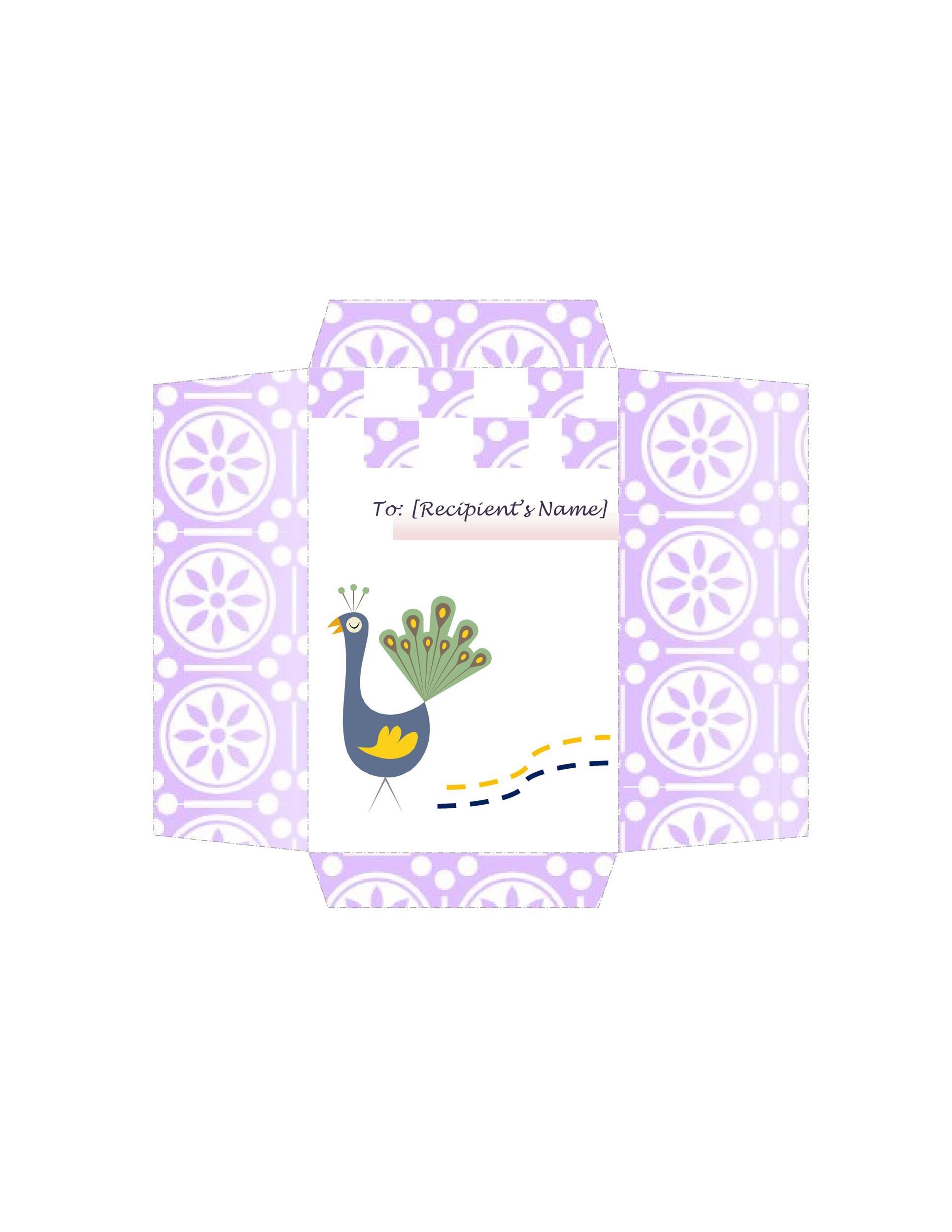 Free Envelope Template 33