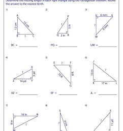 34 Pythagorean Theorem Worksheet Answer Key - Worksheet Project List [ 2500 x 1767 Pixel ]