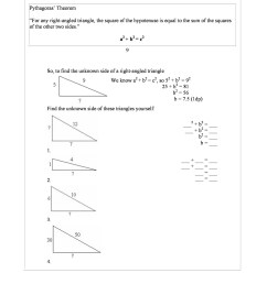 Pythagorean Theorem Maze Worksheet   Printable Worksheets and Activities  for Teachers [ 2500 x 1767 Pixel ]