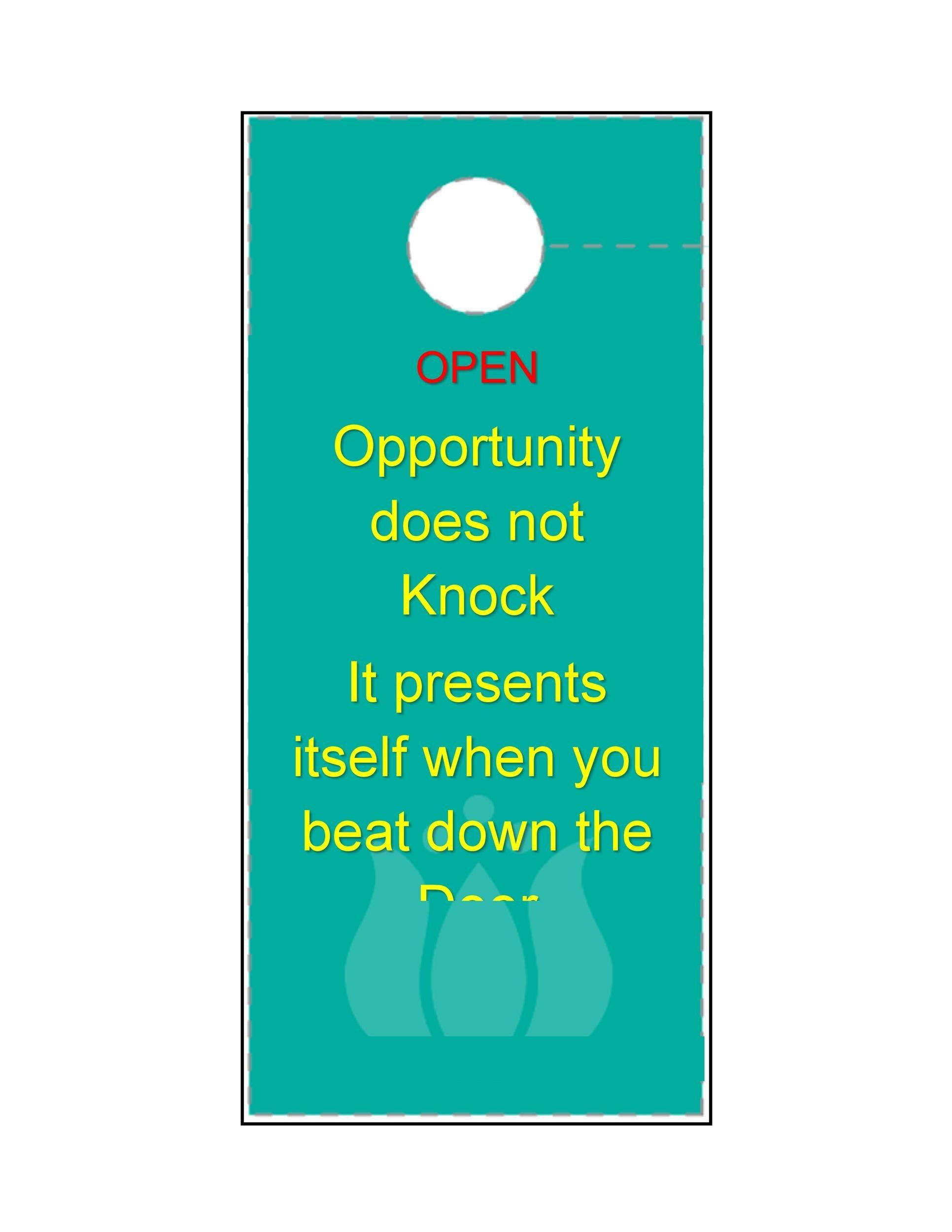Healthcare Door Hanger. Baby Hospital Door Hanger Hospital Door ...