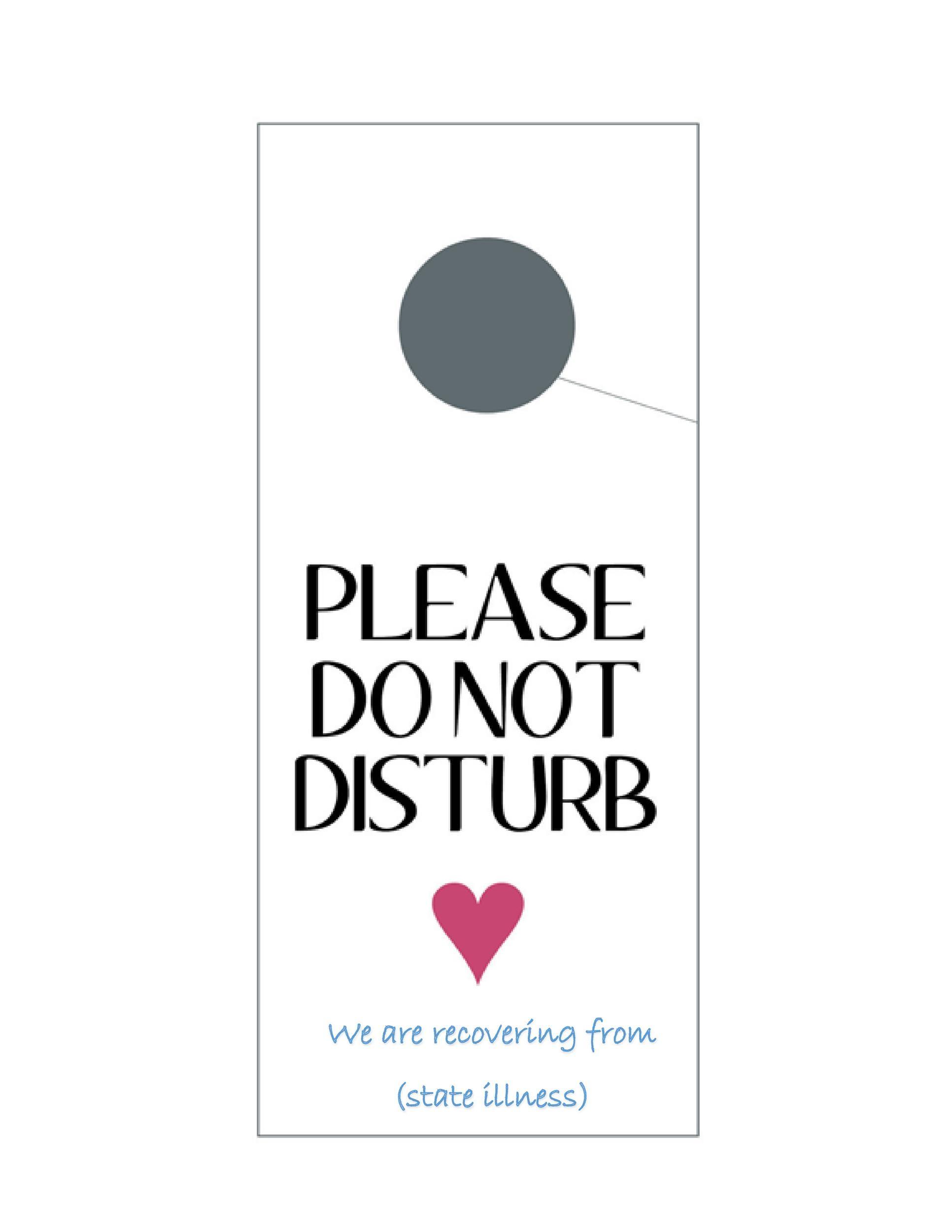 43 Free Door Hanger Templates (Word, PDF) ᐅ Template Lab