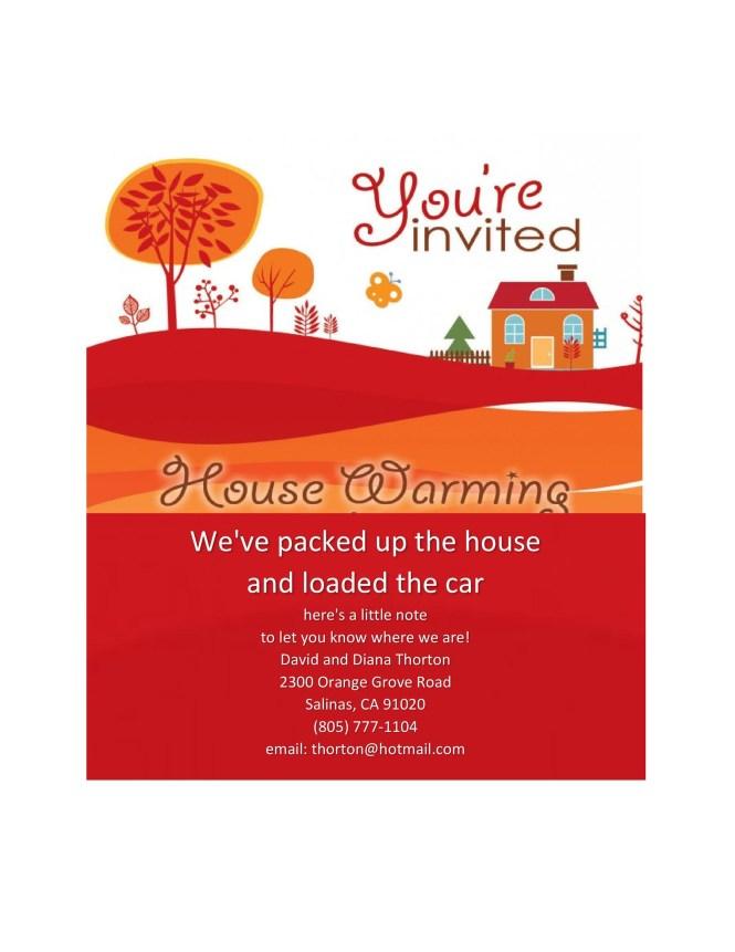 40 Free Printable Housewarming Party