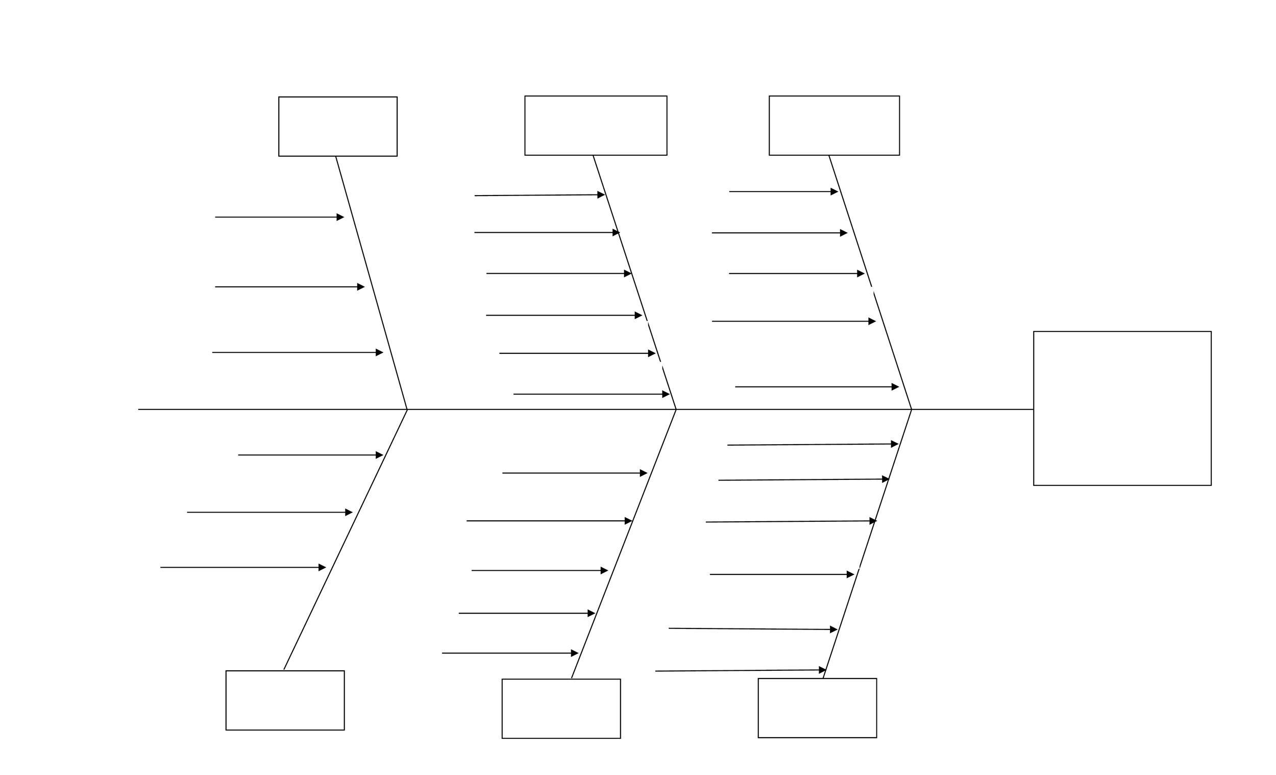 ishikawa fishbone diagram template 2006 toyota yaris radio wiring 43 great templates examples word excel free 02