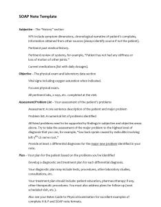 Soap note template also fantastic examples  templates lab rh templatelab