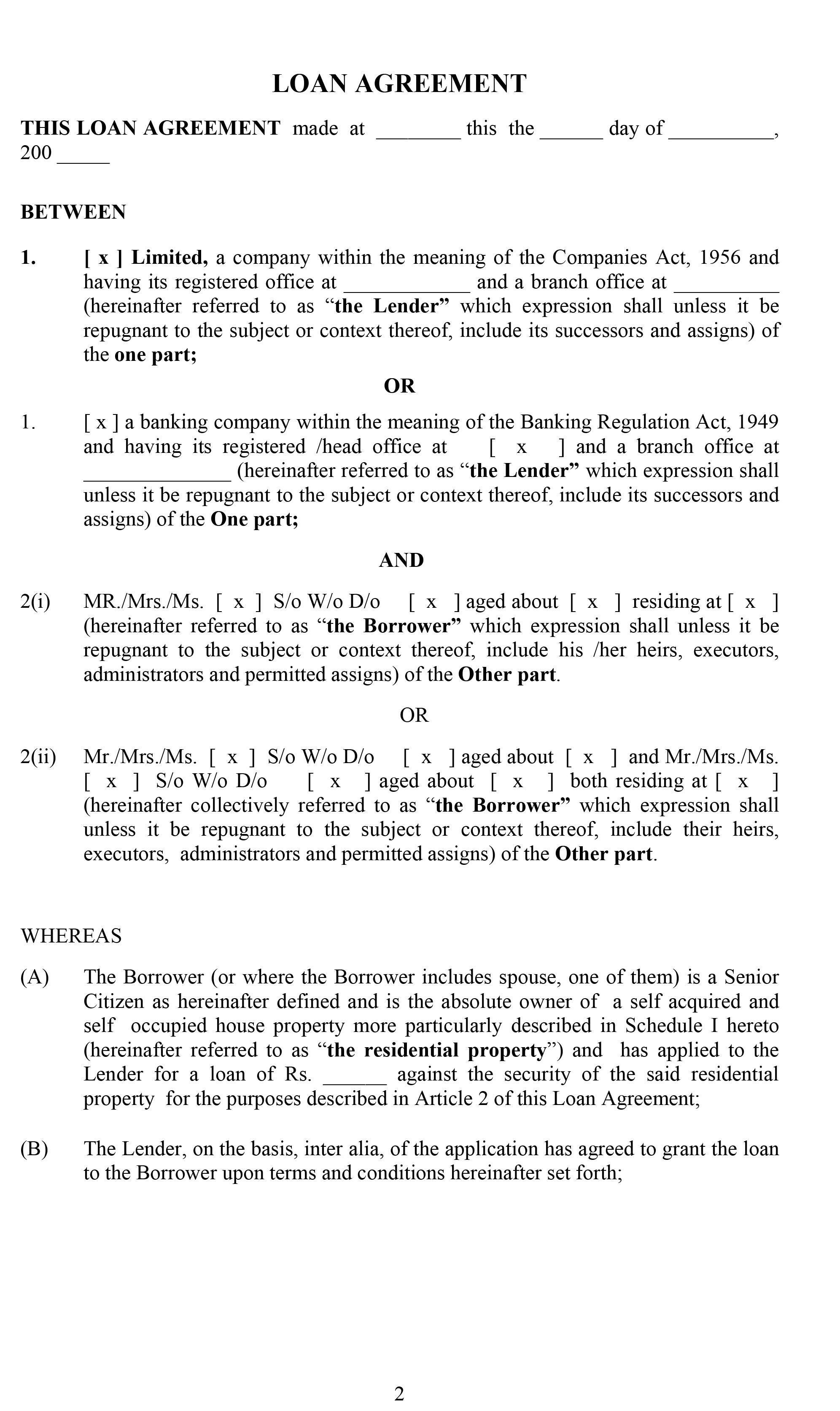 Estate Tax Proposal
