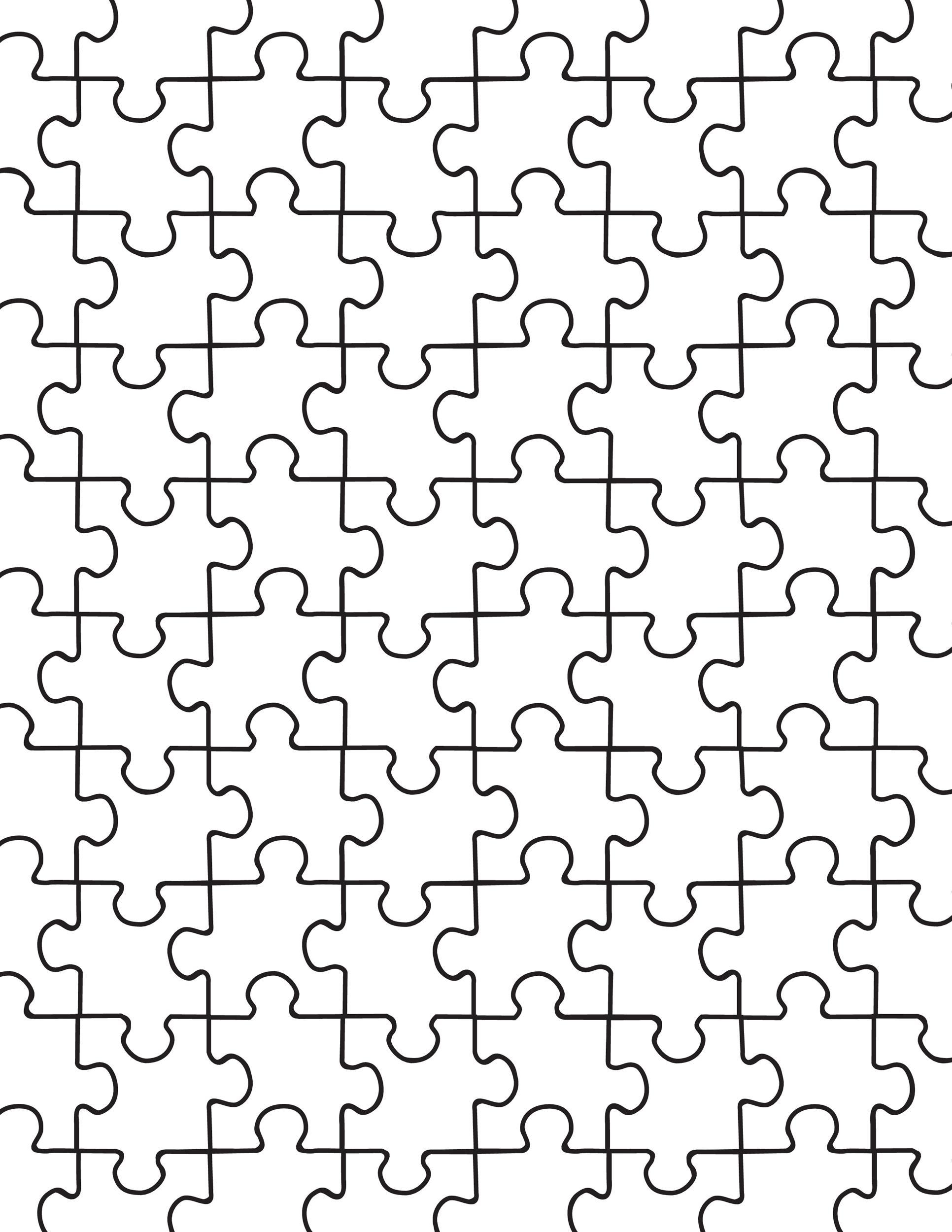 19 Printable Puzzle Piece Templates Templatelab