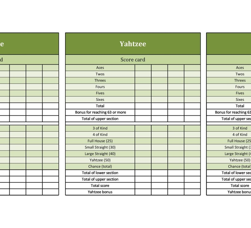 Fill Out Yahtzee Score Card Online Aderichie Co