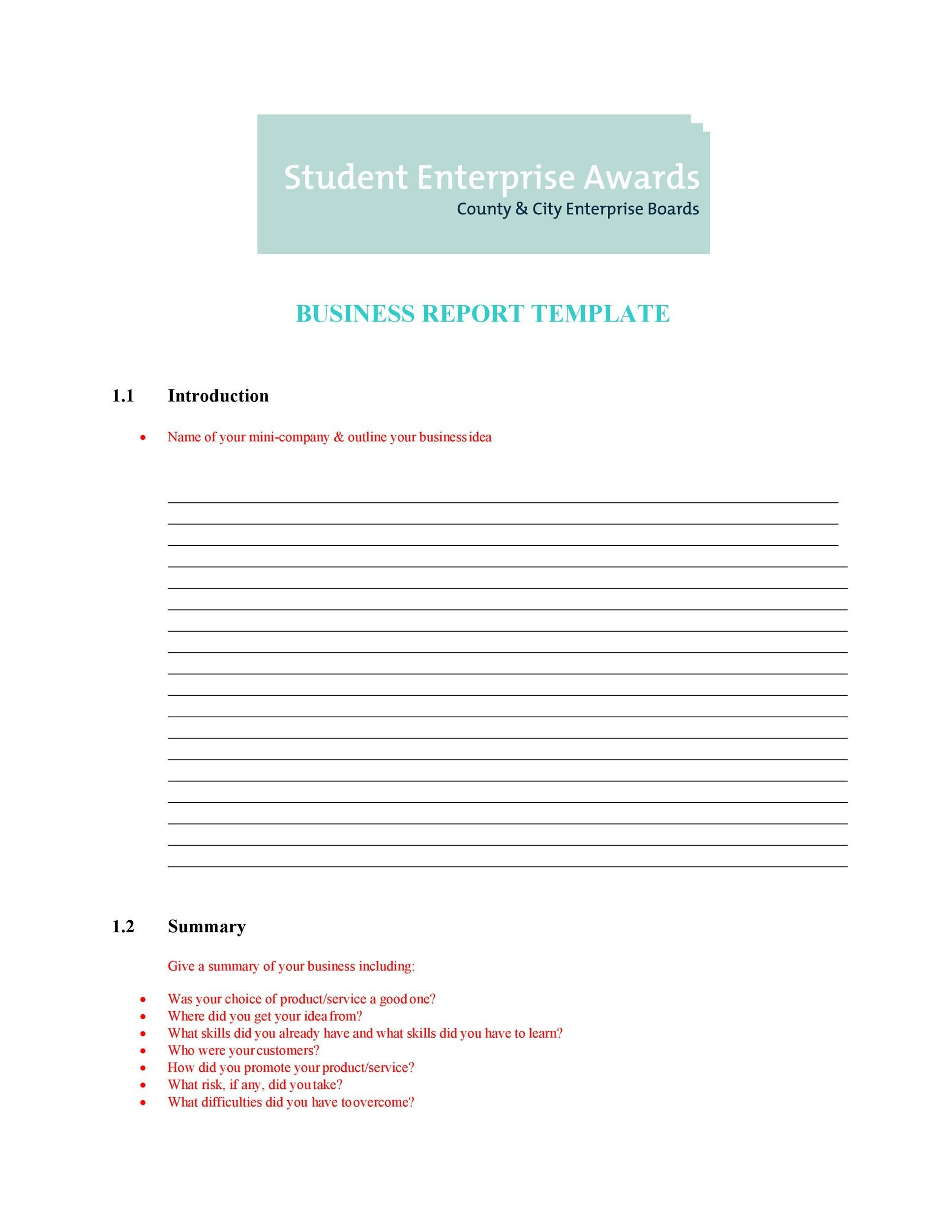 Do My Business Reports Professional Writing Company Template Net Short Report  Example Short Report Sample