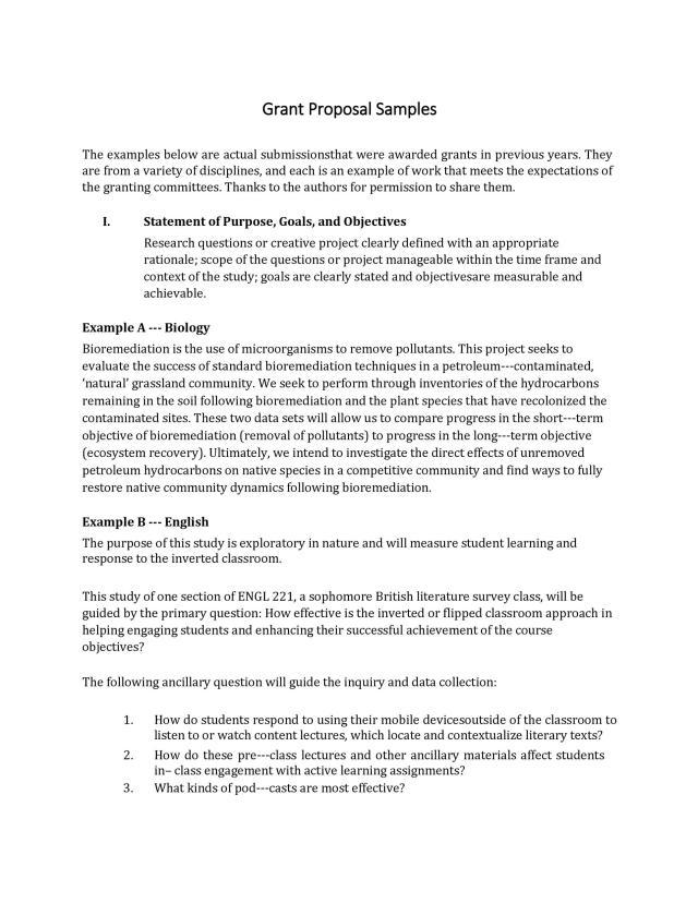 27+ Grant Proposal Templates [NSF, Non-Profit, Research] ᐅ