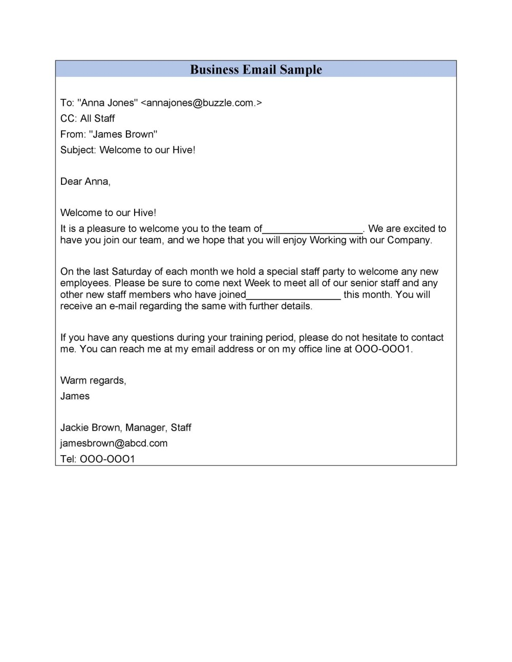 medium resolution of free professional email example 18