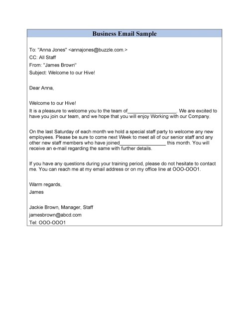 small resolution of free professional email example 18