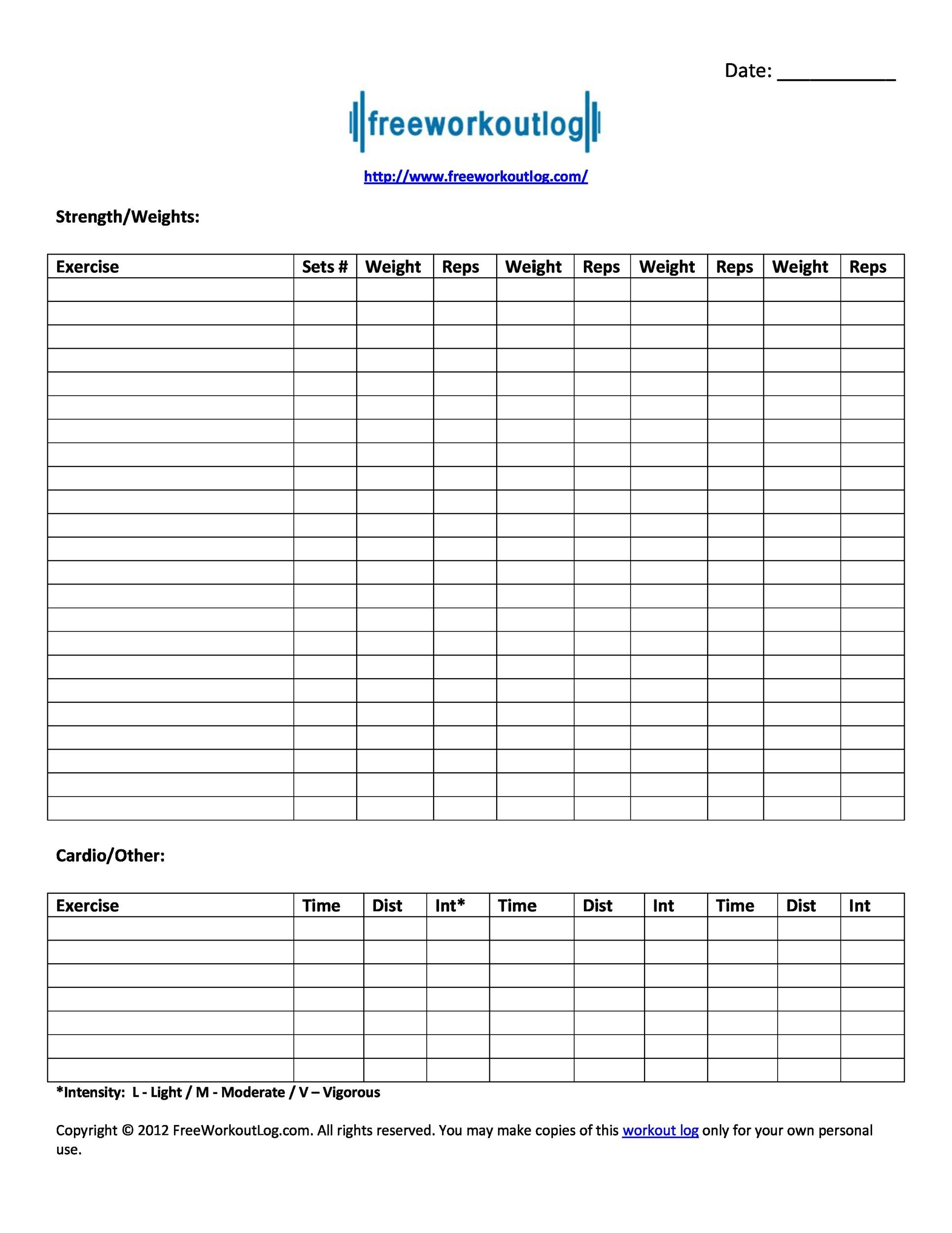 Lab 7 1 A Personal Fitness Program Plan And Contract